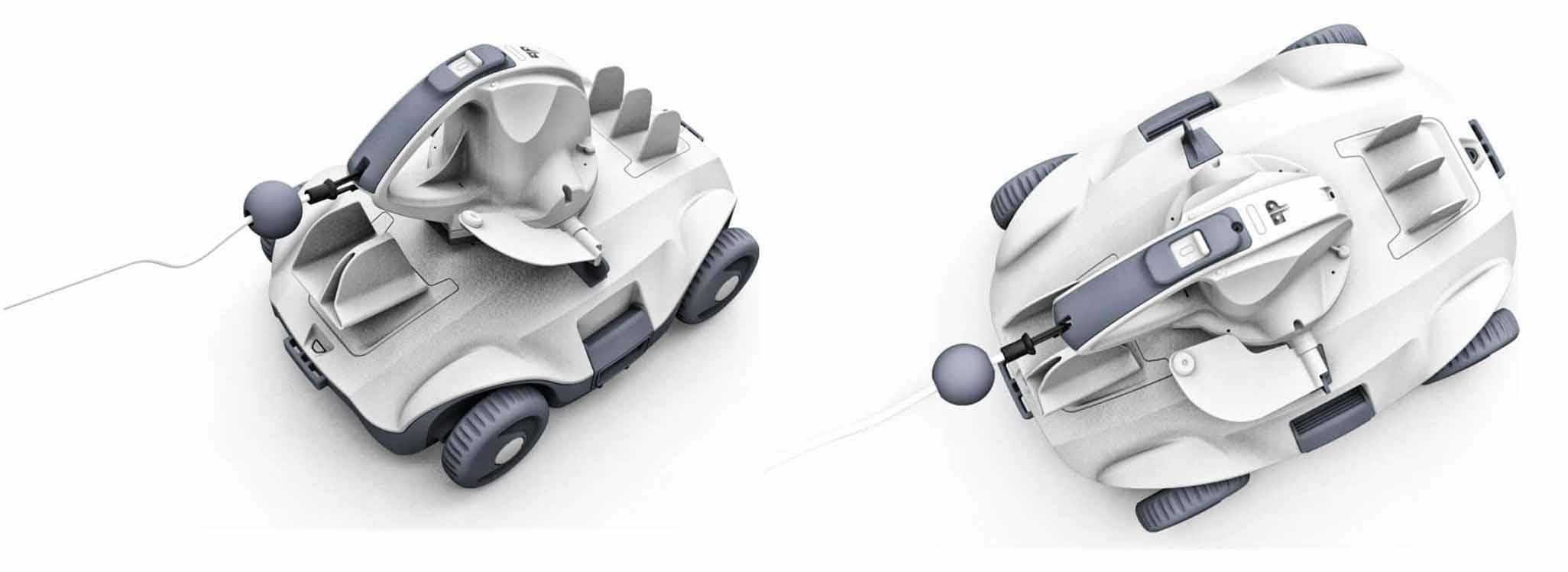 robot manga x sans fil