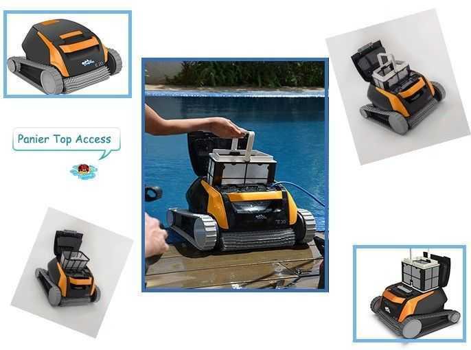 panier top access, panier filtrant, robot dolphin, robot dolphin e20