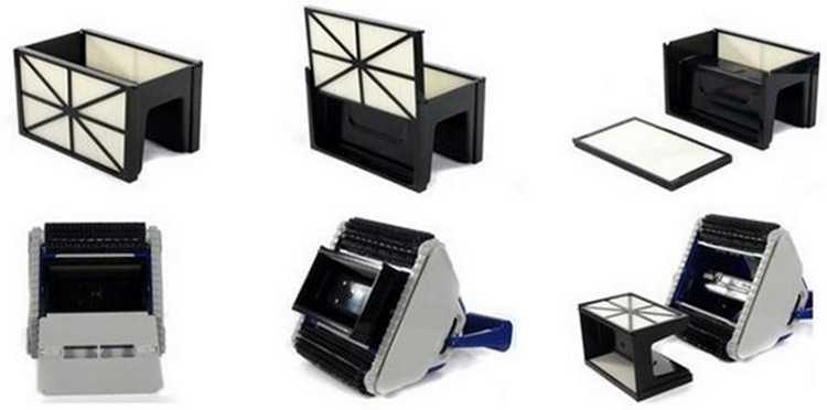nettoyage facile et efficace, panneaux filtrants tigershark qc