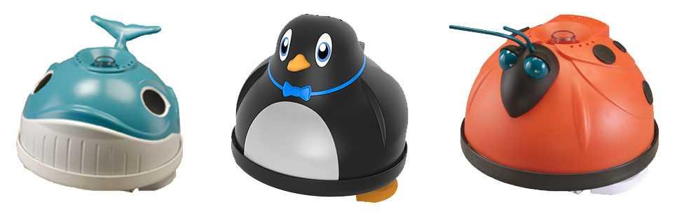 robot waly, pingouin et magic
