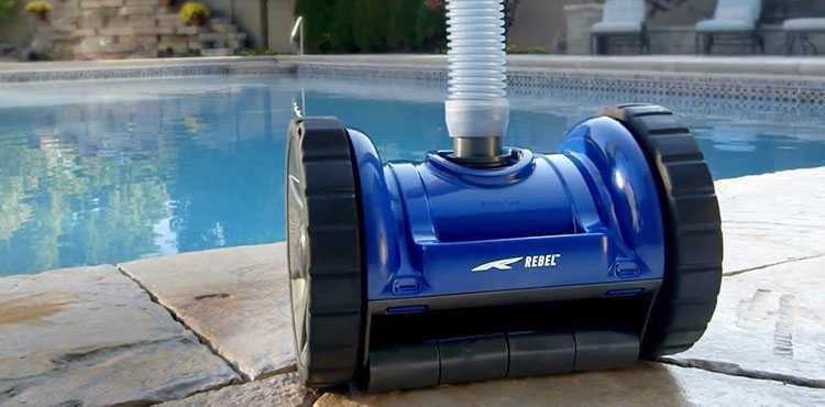 robot hydraulique, robot pentair, robot blue rebel