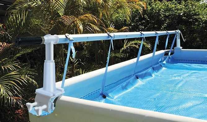 piscine hors sol enrouleur solaris