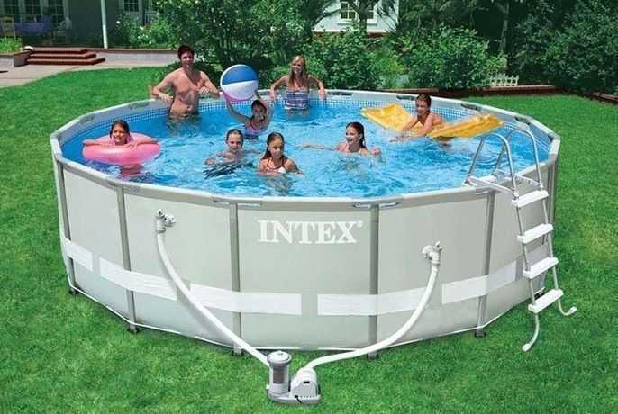 piscine intex, piscine tubulaire