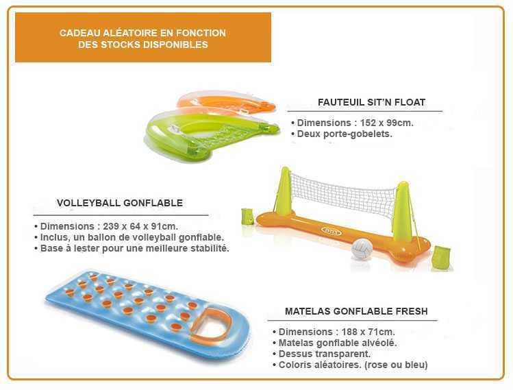 Piscine intex easy set 4 57 x 1 07m c piscine for Bache piscine easy set