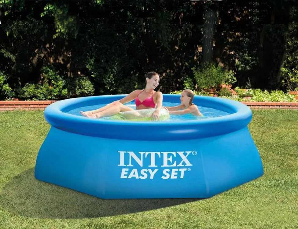 piscine autoportante intex easy set intex piscine hors sol. Black Bedroom Furniture Sets. Home Design Ideas