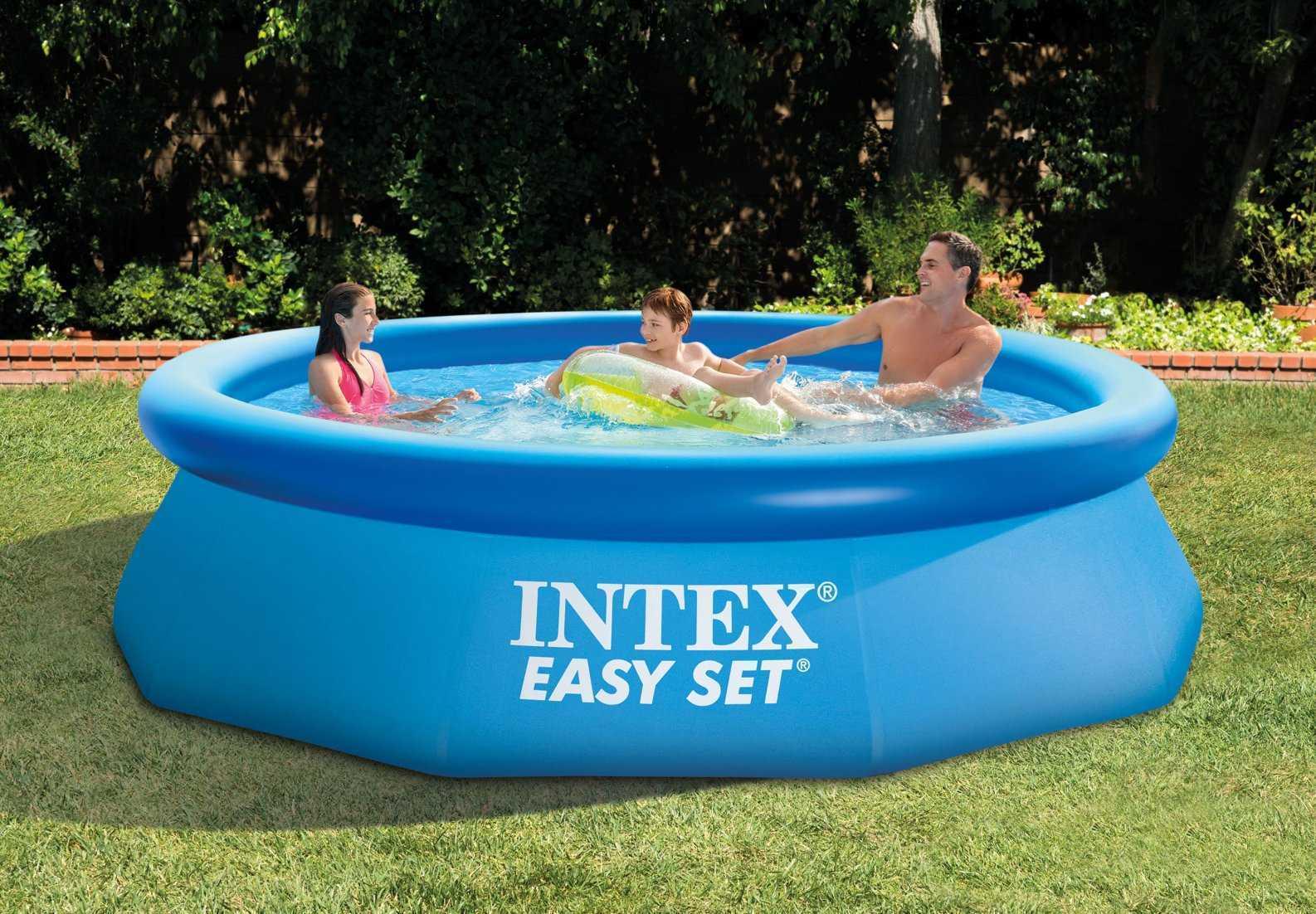 Piscine intex easy set 3 96 x 0 84m c piscine for Piscine gonflable intex easy set