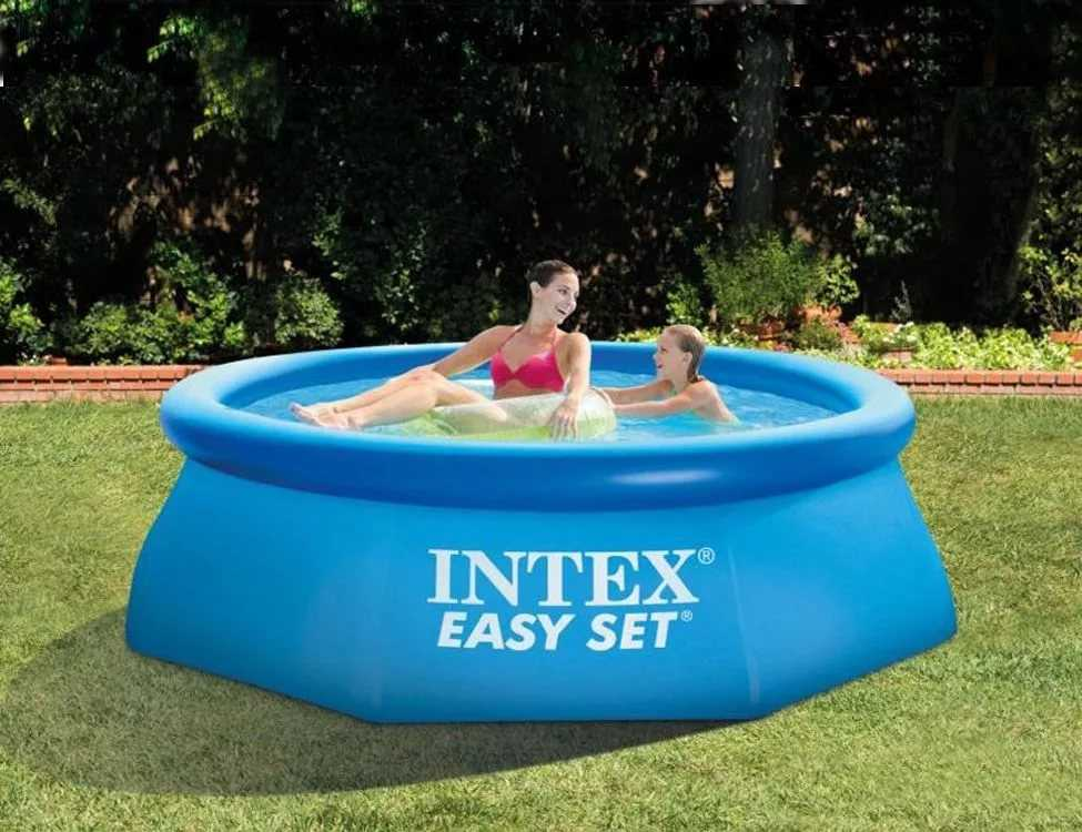 Piscine intex easy set 3 05 x 0 76m c piscine for Bache piscine easy set