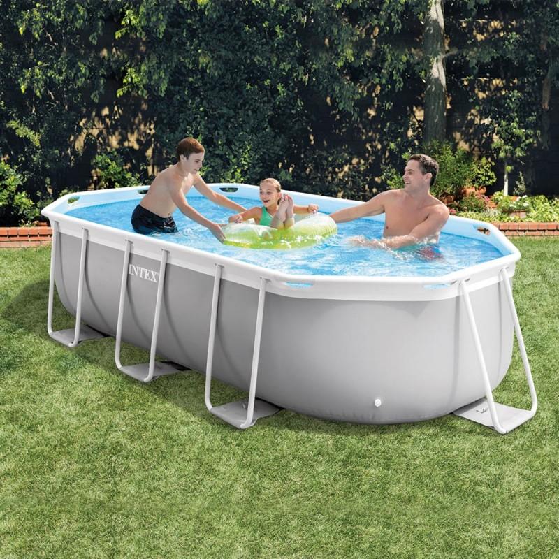piscine prism frame 4,00 x 2,00 x 1,00m réf 26794NP
