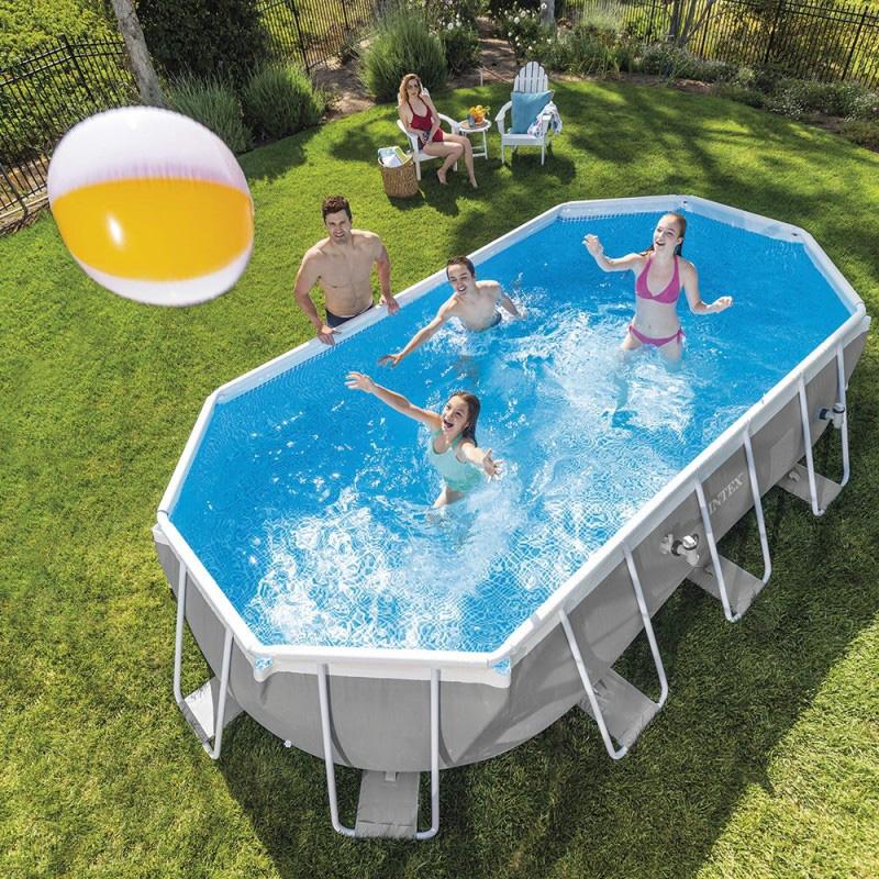 piscine tubulaire ovale intex