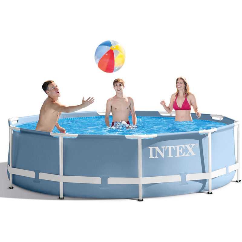 piscine prism frame intex ronde 305 x 076cm