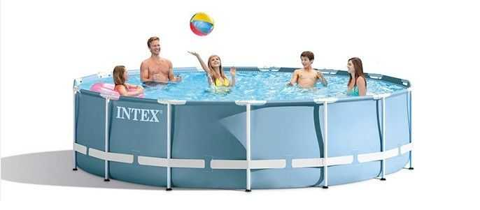 piscine prism ronde intex 457 x 107