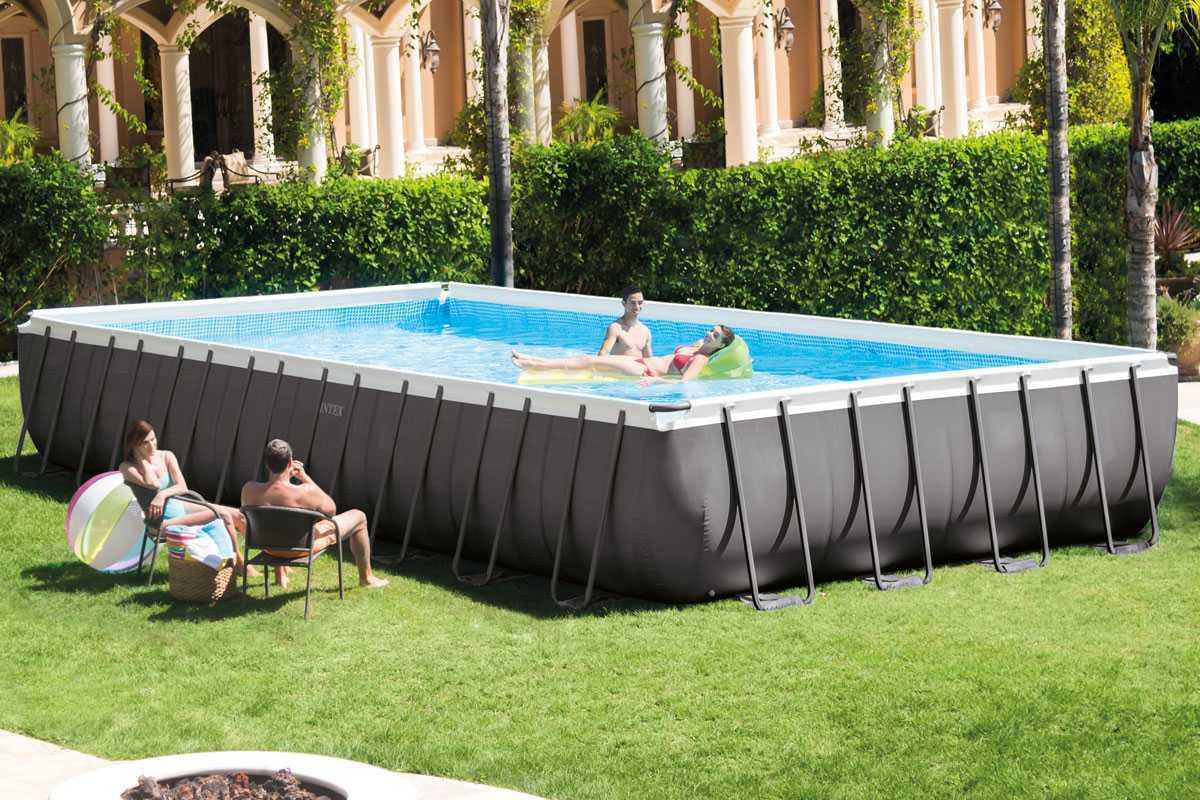 Intex Silver Ultra Frame Pool 9 75 X 4 88 X↕1 32 M Intex