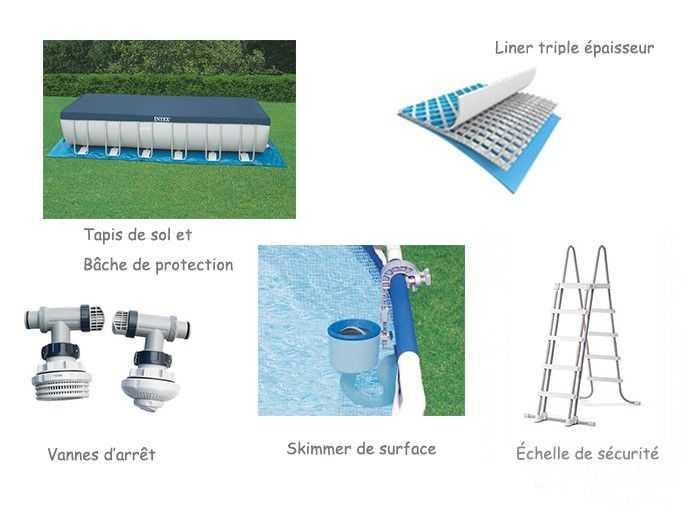 Piscine intex silver ultra 5 49 x 2 74 x h1 32m c piscine for Piscine hors sol ultra silver