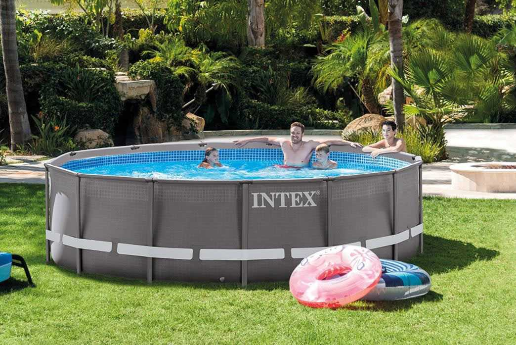 piscine ultra frame 488 x 122 intex tubulaire ronde