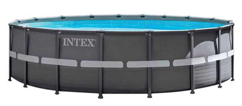 piscine intex tubulaire ronde ultra frame 549