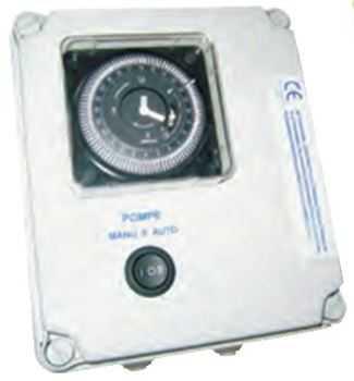 coffret électrique de filtration