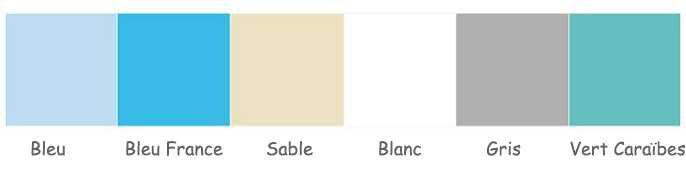 coloris liner pour piscine C-wood