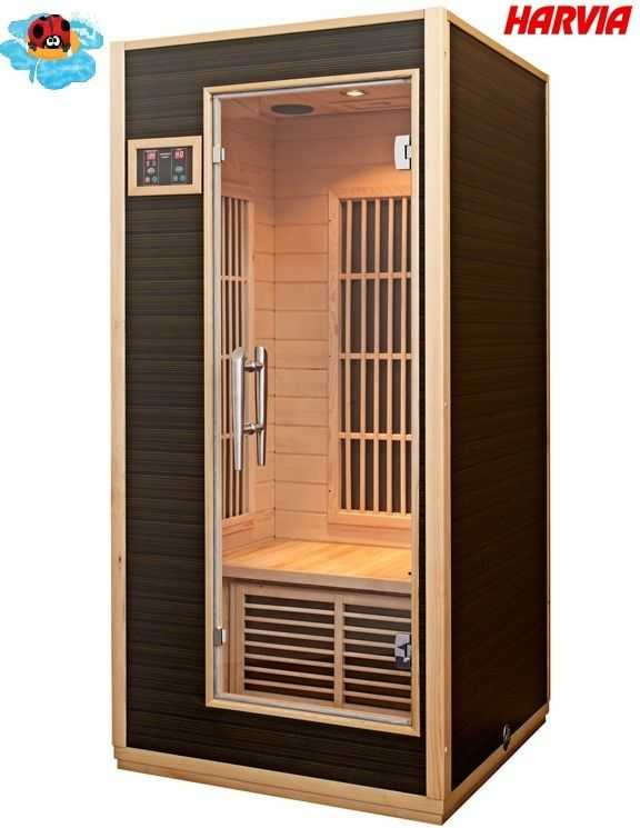 sauna radiant une personne