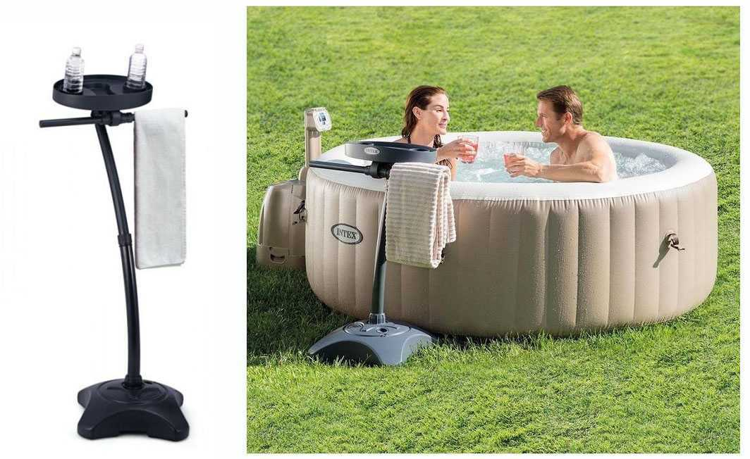 sel pour spa intex finest spa gonflable intex pure spa. Black Bedroom Furniture Sets. Home Design Ideas